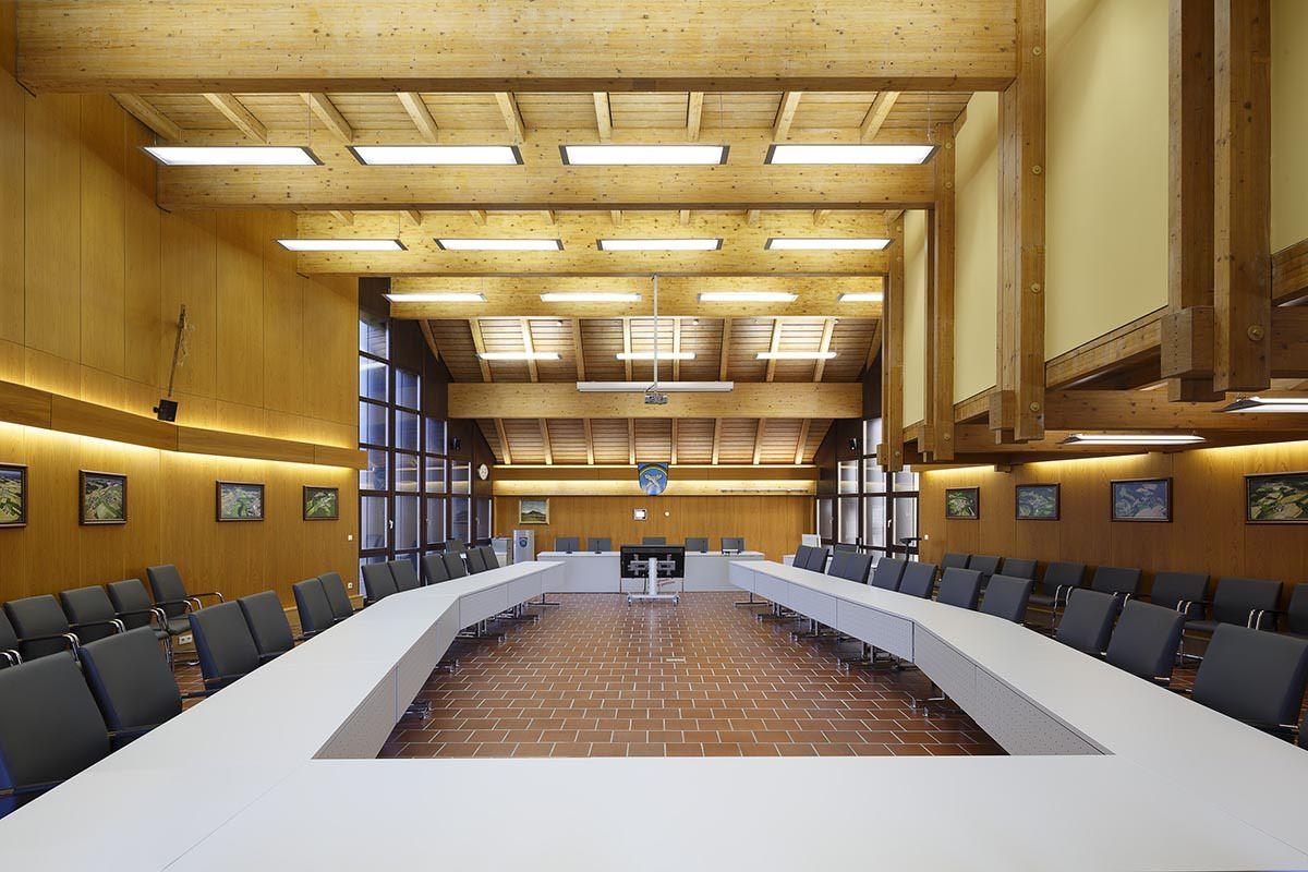 Architekturfotografie - Rathaussaal Regenstauf